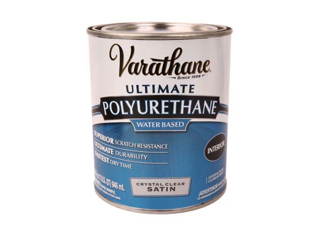 VARATHANE, лак полиуретановый, полуматовый, 0,946 литра