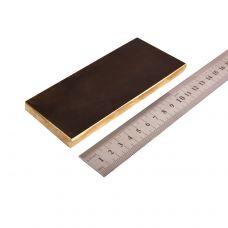 Латунь, пластинка 130х50х10,0мм