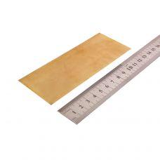 Латунь, пластинка 130х50х0,5мм