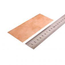 Медь, пластинка 130х50х0,5мм