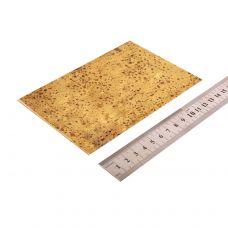 Латунь, пластинка 150х100х1 мм