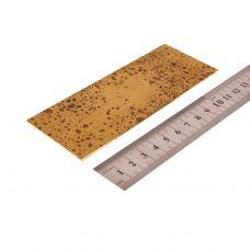 Латунь, пластинка 130х50х1 мм