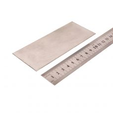 Нержавейка пищевая, пластинка 130х50x1мм