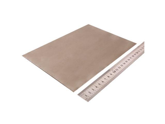Титан, пластинка 240х170х2мм