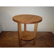 "Кофейный столик ""Дуб"" 30х30х32см"