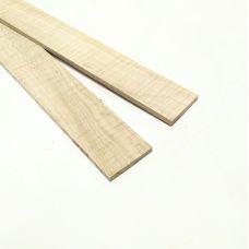 Сикомора 530х50х5-6мм, тонкая заготовка для творчества