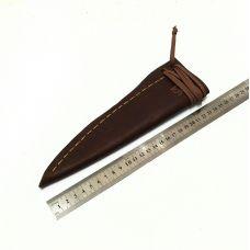 Ножны кожаные, большие.  Тип-1 (цвет: табачный)
