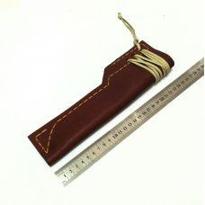 Ножны кожаные, большие.  Тип-2 (цвет: рыже-коричневый)