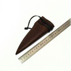 Ножны кожаные, маленькие.  Тип-1 (цвет: табачный)