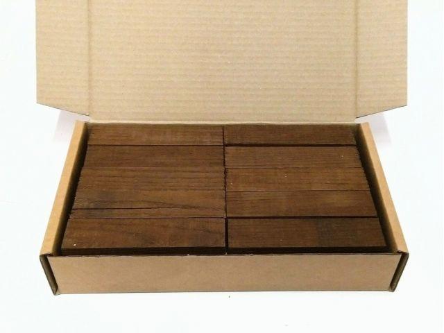 Термоясень, коробка уцененных брусков 270х165х50мм