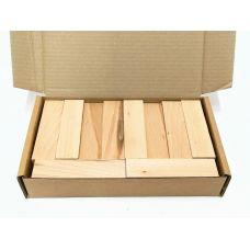 Бук, коробка уцененных брусков 270х165х50мм