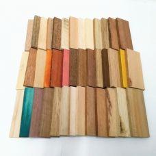"""Набор плашек """"40 оттенков древесины"""""""
