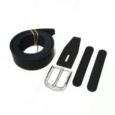 Комплект для изготовления ремня, цвет черный