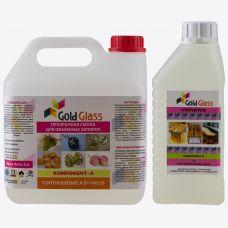 Прозрачная Эпоксидная смола Gold Glass 4 кг. GG4