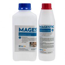 Прозрачная смола для заливки столов Magestic 1,25 кг