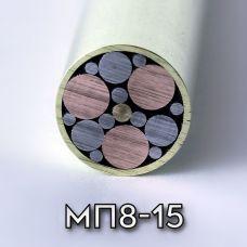 Мозаичный пин МП8-15, диаметр 8мм