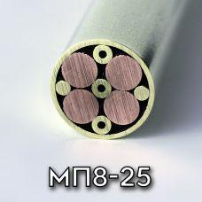Мозаичный пин МП8-25, диаметр 8мм
