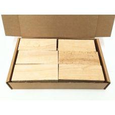 Ясень, коробка уцененных брусков 270х165х50мм