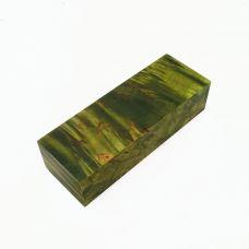 Карельская береза стабилизированная зеленая