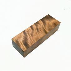 Береза стабилизированная переливчатая коричневая