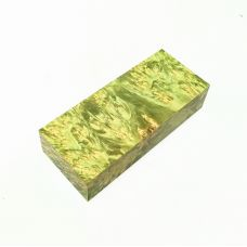 Кап ольхи стабилизированный зеленый