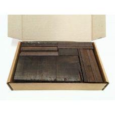 Венге, коробка уцененных брусков 270х165х50мм