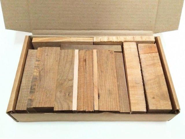 Карагач, коробка уцененных брусков 270х165х50мм