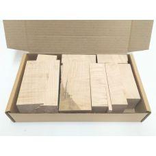 Сикомора, коробка уцененных брусков 270х165х50мм