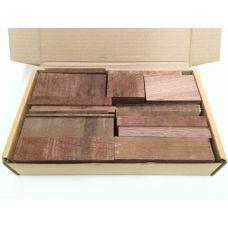 Американский орех, коробка уцененных брусков 270х165х50мм