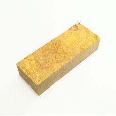 Кап клена стабилизированный, цвет желтый