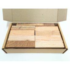 Американский дуб, коробка уцененных брусков 270х165х50мм