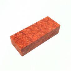 Кап клена стабилизированный, цвет рыжий