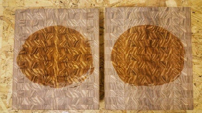 Пример покрытия деревянной разделочной доски воском
