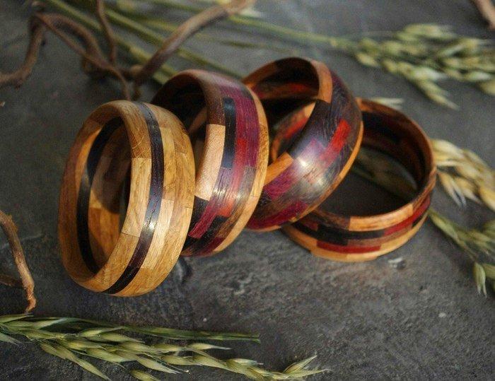 Примеры украшений с покрытием датским маслом