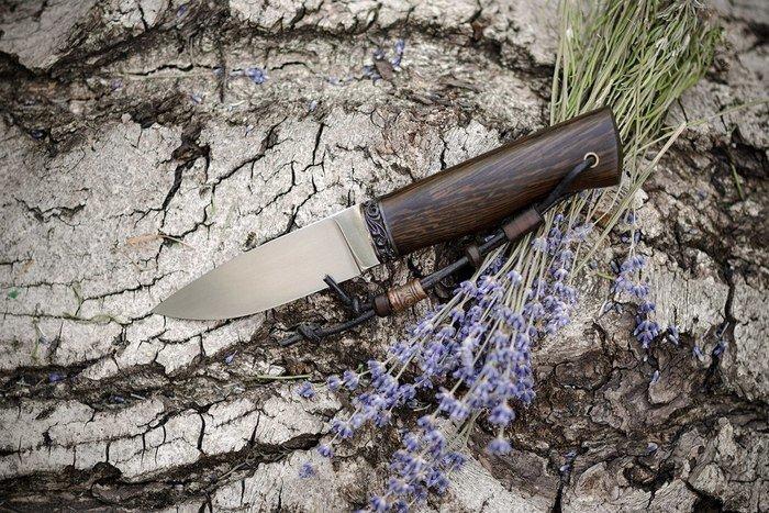 Пример ножа с клинком D2 от Ясного Сокола