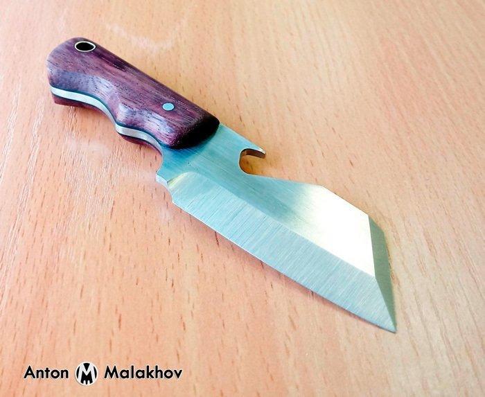 Пример работы из древесины амаранта