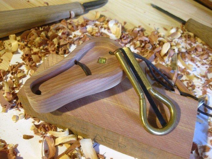 Пример работы из древесины цедера