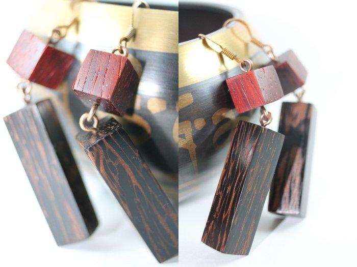 Пример украшения из черной пальмы