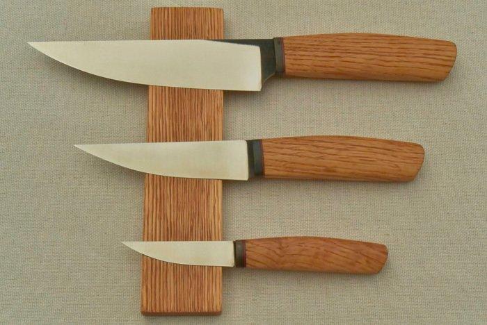Пример рукояти из древесины  дуба