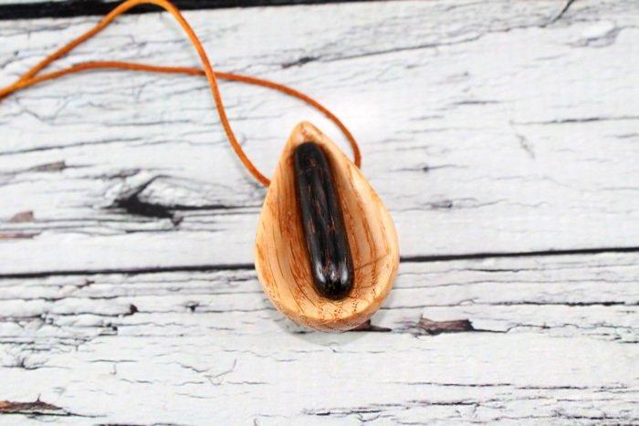 Пример украшений из американского красного дуба