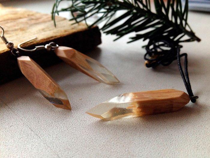 Пример работы из древесины граба