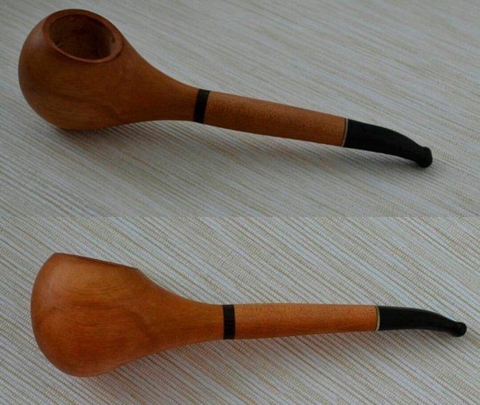 Пример курительной трубки из древесины груши