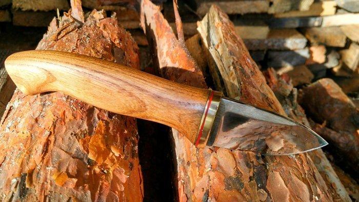 Пример работы из древесины карагача