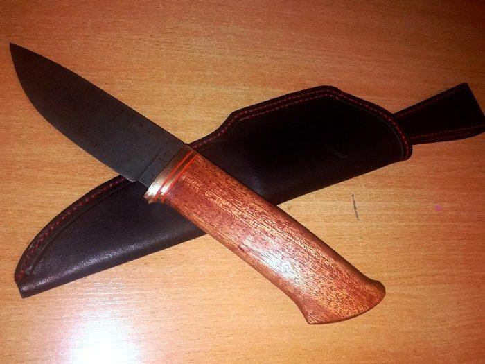 Пример рукояти из древесины кайи