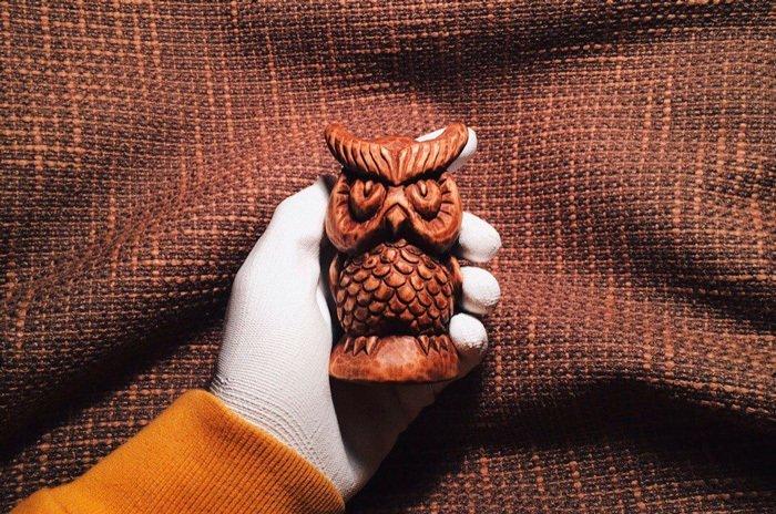 Пример резной работы из древесины кедра