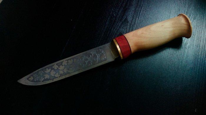 Пример работы из дрвесины клена