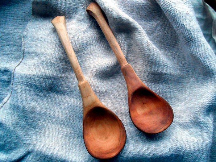 Пример ложки из липы