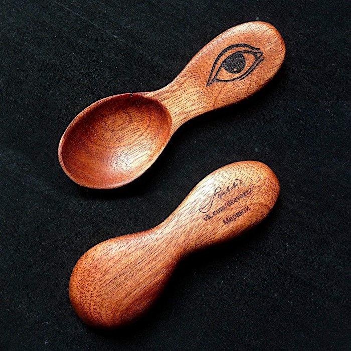 Пример работы из древесины меранти