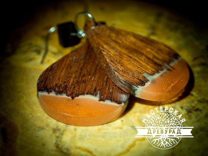 Пример украшения из древесины мербау