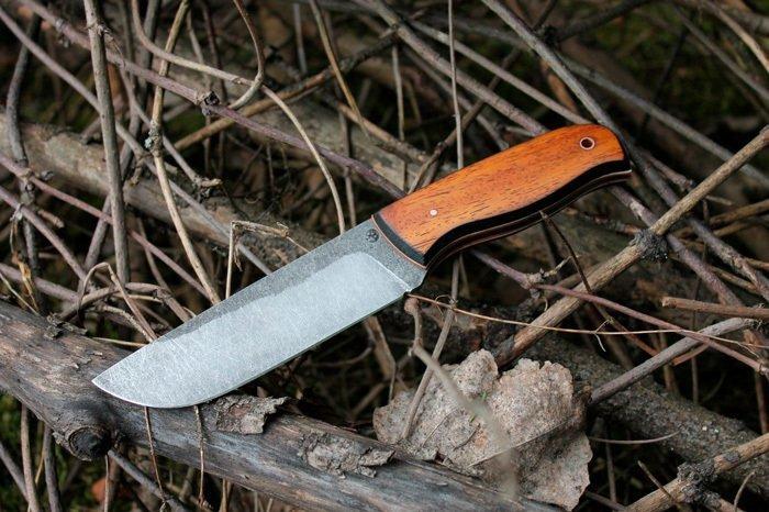 Пример рукояти ножа из мербау